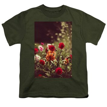 Watercolor Flowers - Youth T-Shirt
