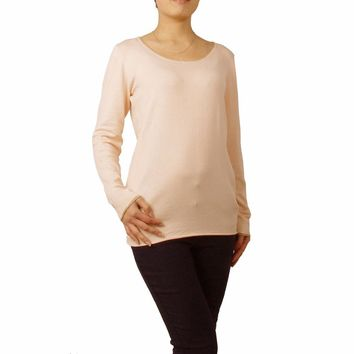 Autumn New Style Sweet Cozy Casual Soft Women Pullover Jumper Sweater O-Neck Long Sleeve Solid Color Female Coat