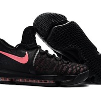 "2017 Nike  Zoom  KD 9  Kevin Durant Ⅸ  Mens"" Breast Cancer"" Basketball Shoes"