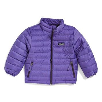 Toddler Girl's Patagonia Quilted Down