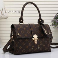 Day-First™ LV Women Shopping Bag Leather Satchel Shoulder Bag Crossbody