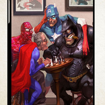 Old Hero Parody X1507 iPad 2 3 4, iPad Mini 1 2 3, iPad Air 1 2 , Galaxy Tab 1 2 3, Galaxy Note 8.0 Cases