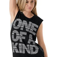 One of a Kind Graphic Slashed Tank | Urban Groove®