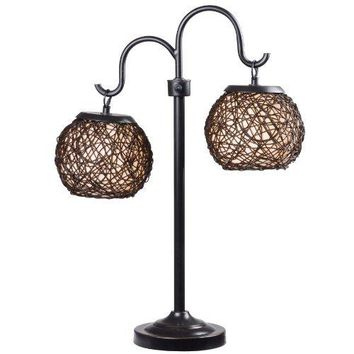 Kenroy Home 32245BRZ Castillo Outdoor Table Lamp, Bronze Finish by Kenroy Home