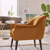 Eleanor Velvet Arm Chair | Urban Outfitters