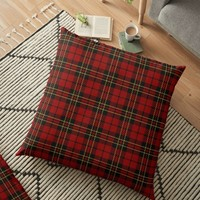 'BRODIE CLAN TARTAN' Floor Pillow by IMPACTEES