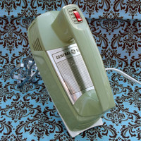 GE General Electric 3 Speed Hand Mixer Olive Green Retro Vintage 60s