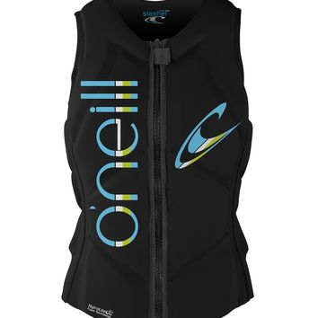 O'Neill Women's Slasher Comp Life Vests Black