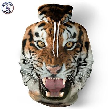 Mr.1991INC Men/Women Hoodies Hooded College Jacket 3d Print Tiger Men Sweatshirt Long Sleeve Cap Hoodies lovely Tracksuit Hoody