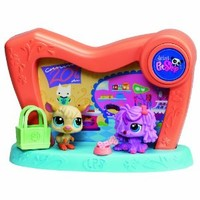 Littlest Pet Shop 2 in 1 Pet Spotlight - Pet Store / Vet Theme