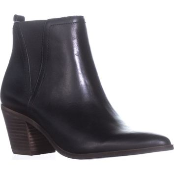 Lucky Brand Lorry Pointed Toe Ankle Boots, Black, 7 US