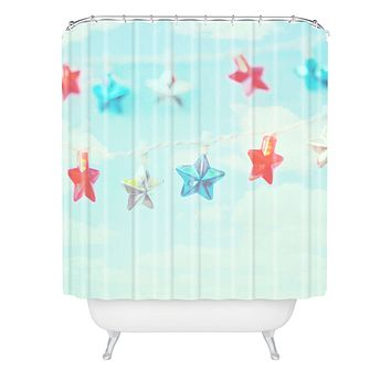 Lisa Argyropoulos Oh My Stars Shower Curtain
