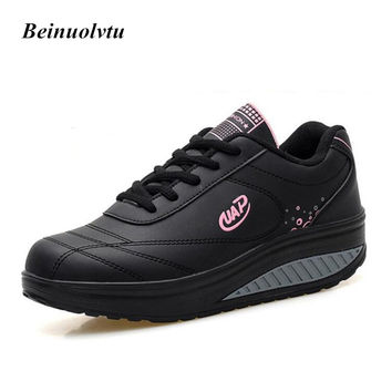 2017 Trainers shoes women sneakers sports shoes girls running shoes Platform sneakers women shoes 35-40