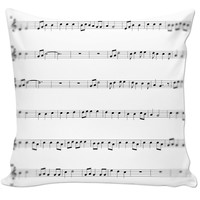 New Music Pillow Case