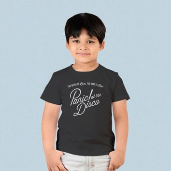 Kids T-shirt - Panic at The Disco Too Weird to Live Too Rare to Die