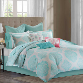 Echo Design™ Bindi Comforter Set in Aqua