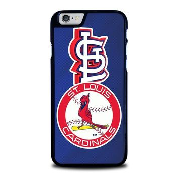 st louis cardinals iphone 6 6s case cover  number 1