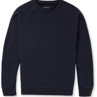 Alexander Wang - Fleece-Back Cotton-Blend Jersey Sweatshirt | MR PORTER
