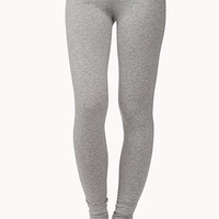 Lace-Trimmed Lounge Leggings