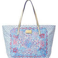 Lilly Pulitzer 'Resort' Water-Resistant Print Tote - Blue