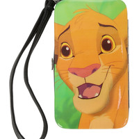 Disney The Lion King Simba iPhone 4/4S/5 Hinge Wallet