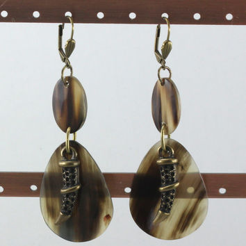 Double Disc Earring. HER_210