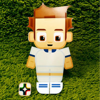 Greece football soccer craft activity. Printable paper toy. Instant download. Make you own cards, banners and football soccer bunting!