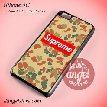 Antique Camo Supreme Phone case for iPhone 5C and another iPhone devices