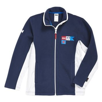 Boy's Helly Hansen 'Jr. Hydro' Fleece Jacket