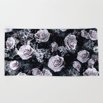 Dark Love Beach Towel by RIZA PEKER
