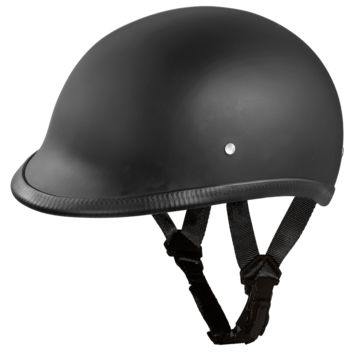 Daytona HAWK Helmet - Dull Black - D.O.T.