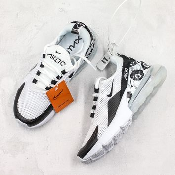 Nike Air Max 270 Black White Floral - Best Deal Online