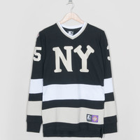 Black Label x size? NY Black Yankees Hockey Jersey