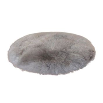 Carpet Soft Artificial Sheepskin Rug Skins Carpet Seat Pad Round Area Rugs Floor Mat 2 Colors Home Decorator Carpets For Kitchen