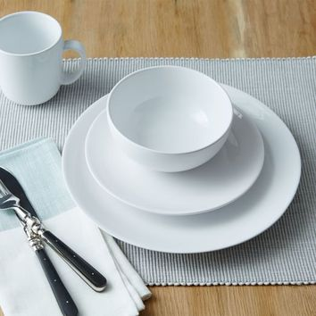 Palette Dinnerware Set - White