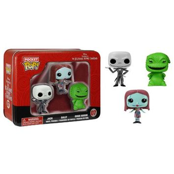 NBX Pocket Pop! Mini Vinyl Figure 3-Pack Tin