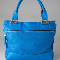 WASHINGTON PERFORATED TOTE
