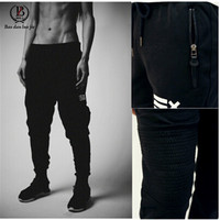 2015 New Men Pants Sports Running Gym Sweatpants Soccer Printing Casual Trouser Jogging Bodybuilding Fitness Sweat Pants