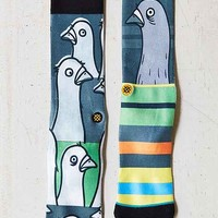 Stance Todd Francis Sock- Green Multi One