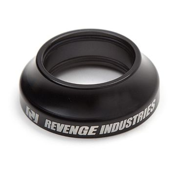REVENGE HEADSET TALL CAP 15MM , BLACK