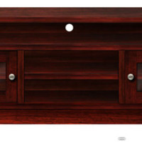"""Stealth - Maple Expressions """"Hidden Drawer"""" TV Stand Console Table"""