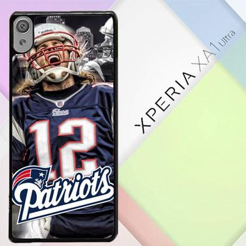 New England Patriots W3014 Sony Xperia XA1 Ultra Case