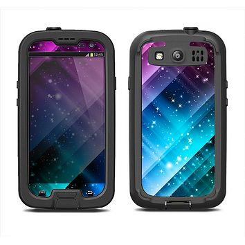 The Neon Glow Paint Samsung Galaxy S3 LifeProof Fre Case Skin Set