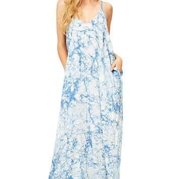 Cloud Coverage Maxi Dress