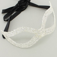 Fashion Masks: Rhinestone Cats Eyes