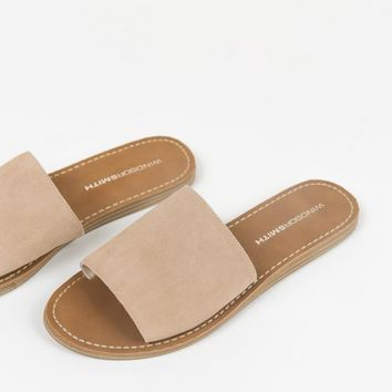 Windsor Smith Nougat Kari Slides