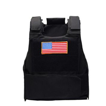 Cape Tactical Vest Special Forces SWAT Police Duty Vest Army Militar Hunter CS Security Work Protect Clothes Can Steel Plate