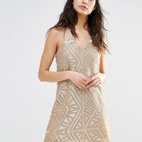 River Island | River Isand Embellished Cami Dress at ASOS