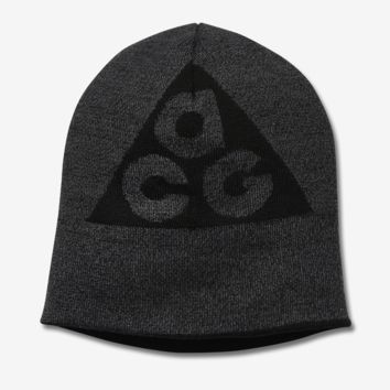 Nike NikeLab ACG Reversible Knit Hat (Black)