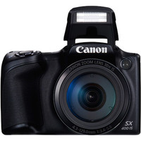 Walmart: Canon PowerShot SX400 IS Digital Camera with 16 Megapixels and 30x Optical Zoom (Available in Black or Red)